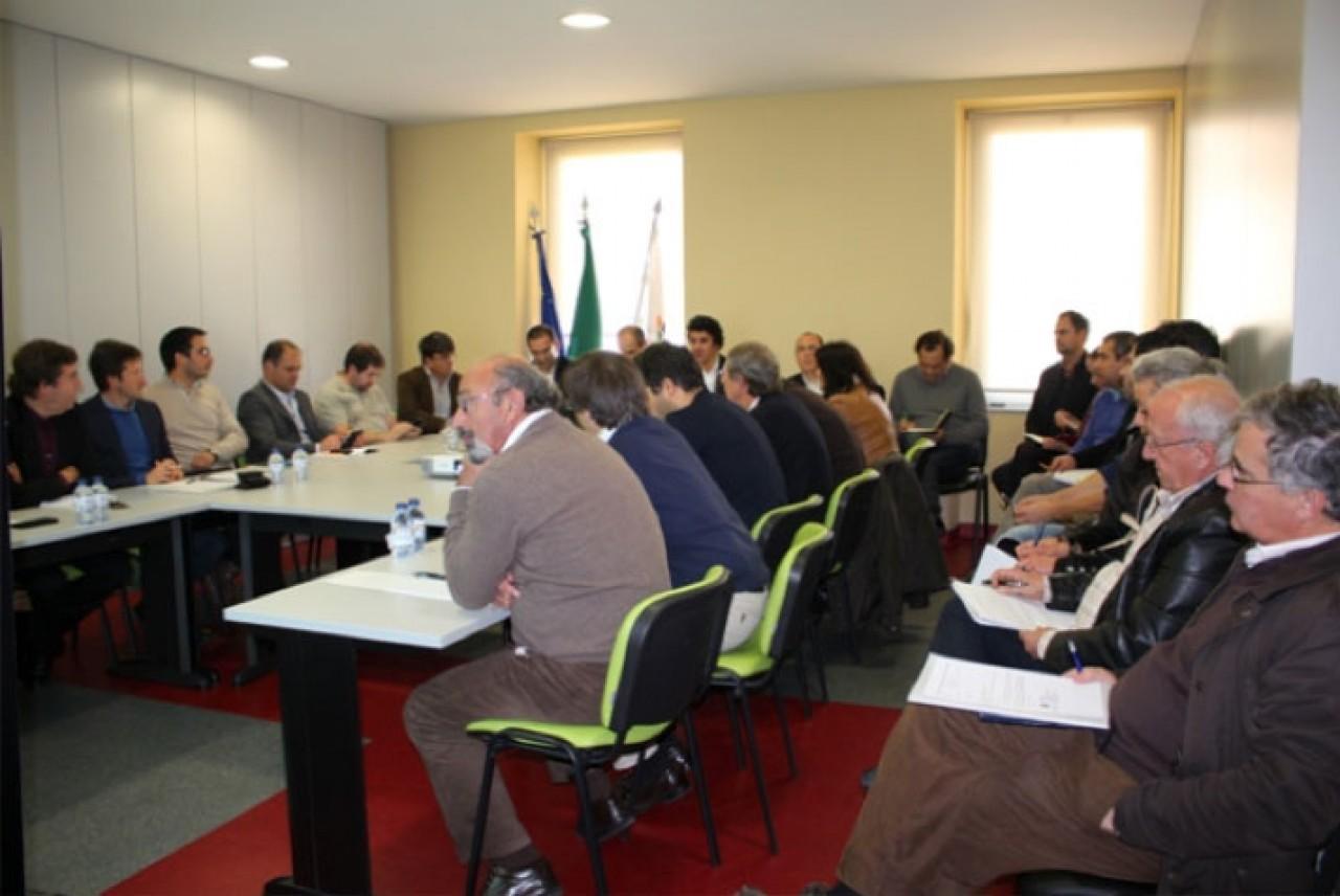Reunião de trabalho no âmbito da criação da Central de Compras Regional da CIM Viseu Dão Lafões